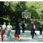 Teens Enjoying Basketball