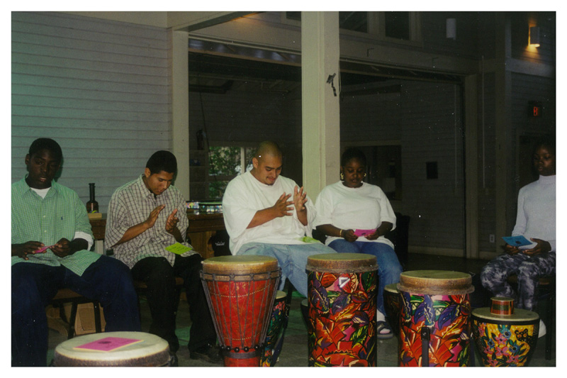 Youth Playing Music